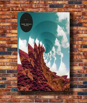 Tame Impala Psychedelic Rock Art Print Silk 8x12inch Poster C-2783