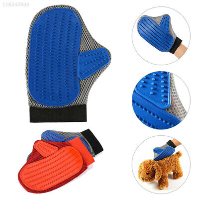 0B0F Pet Massage Hair Removal Bath Shower Grooming Cleaning Magic Glove Brush