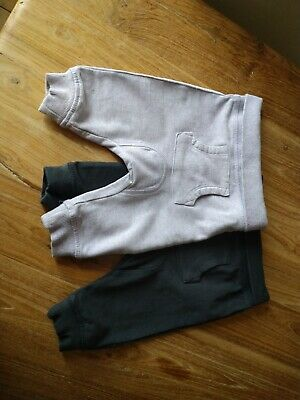 Babygirl Joggers Lilac And Dark Grey Age 3-6 Months Next Baby