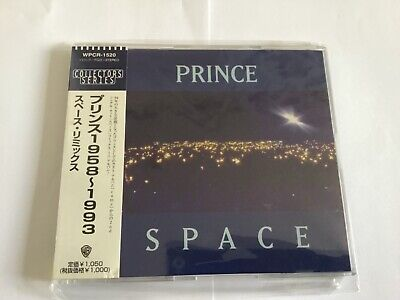 """Sealed PRINCE Space JAPAN 6-track 5"""" CD Collectors Series #10 WPCR-1520 w/OBI"""
