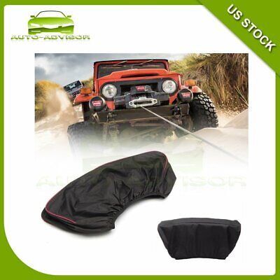 Winch Cover Waterproof Soft fit for 8,000-13000lb Winch Brand New