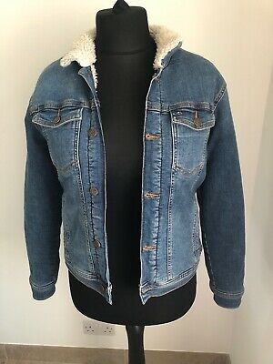 Boys Tommy Hilfiger Denim 13-14 Jacket with fleece lining - pre-owned £25