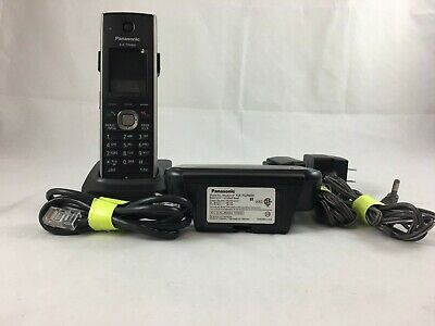 Panasonic KX-TGP600 SIP DECT Cordless Phone System 1 VOIP Handsets TGP600 TPA60