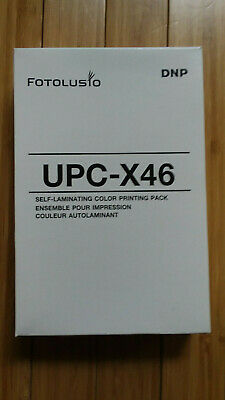 5 Packs DNP Fotolusio UPC-X46 DNP UPCX46 Color Print Pack