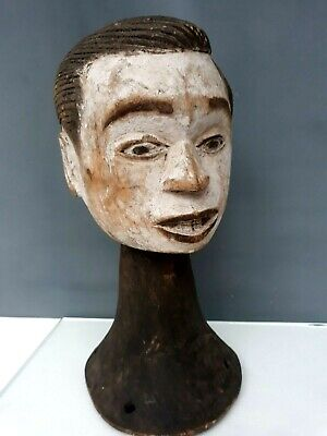 Idoma Maske Figure Headdress