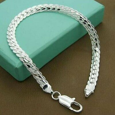 Silver Fashion 5mm Bracelet Bangle Special Price Charm Jewelry Unisex Gift