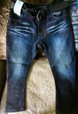 Boys jeans from F&F size 7 to 8 with belt