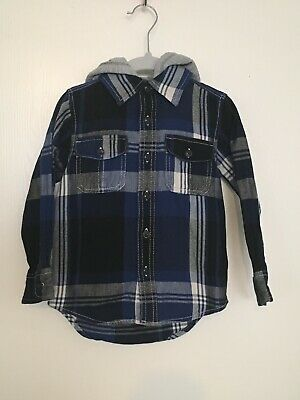 Boys Toddler Baby Gap Flannel Jacket 4T