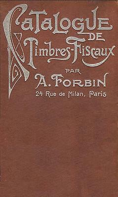 Forbin 2nd Edition REVENUE STAMPS CATALOGUE A-Z Timbres Fiscaux 734pp - CD