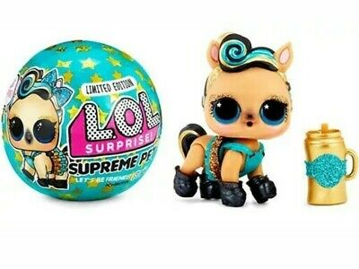 1 LOL Surprise Limited Edition SUPREME PET Series Lucky Luxe Pony Ball L.O.L.