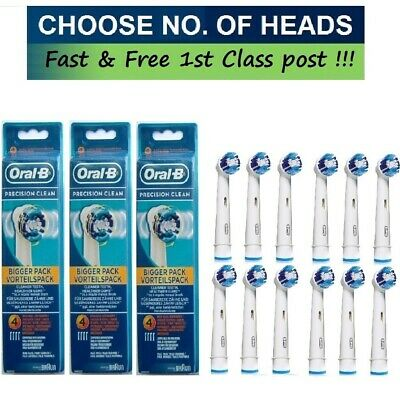 Braun Oral-B PRECISION CLEAN Replacement Electric Toothbrush Heads
