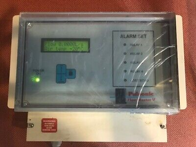 Pulsonic Flowmaster 990147 230v T2 Open Channel Ultrasonic Flowmeter With Manual
