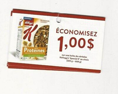 Coupons - 14 X Save $1.00 On Kellogg`s Special K Cereal