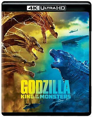Godzilla: King of the Monsters 4KUHD ONLY with Case/Artwork/Slip Cover Ships Now