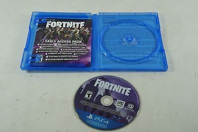 FORTNITE PHYSICAL DISC COPY Sony Playstation 4 PS4 Epic Games Shooter Used