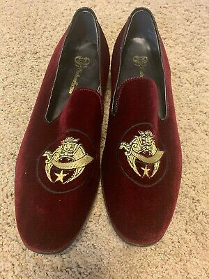 Evans Standard Shoes Shriners Logo On The Shoe. Very Nice Quality. Pre-owned