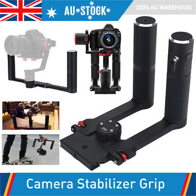 Anti-Shake Dual Handheld Hand Grip Holder Stabilizer for Feiyu A2000/A1000