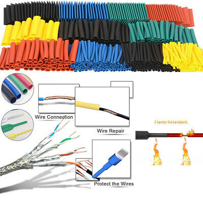 Electronic Parts Wire Cover Shrinkable Tube Cable Sleeve Kit Heat Shrink Tubing
