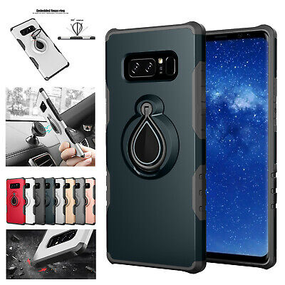 Shockproof Case For Samsung Galaxy NOTE 8 Hybird TPU Rubber Armor Stand Cover