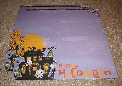 "Happy Haunting Double-Sided Cardstock 12/""X12/"" Jeepers Creepers 811958035606"