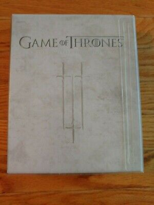 Game of Thrones:The Complete Third Season (Blu-Ray,2014 5-Disc Set) Watched Once