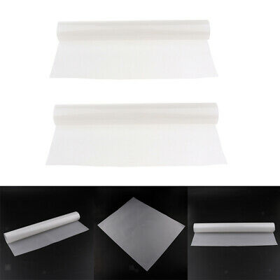 """2x Color Gel Filter Sheets appx 16x20"""" Photo Video Theater Stage  White"""