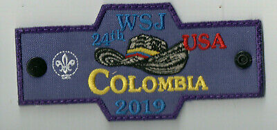 2019 24th World Scout Jamboree Columbia Contingent Woggle Patch A