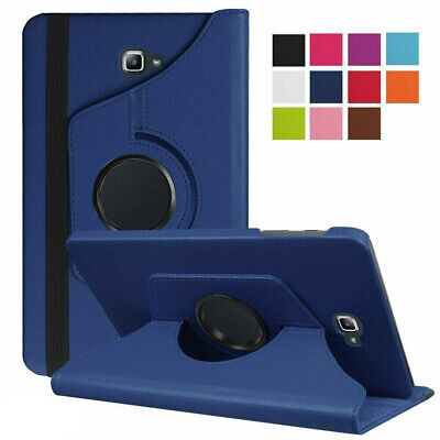 360 Rotating Case For Samsung Galaxy Tab A T580 T585 10.1 Smart PU Leather Cover