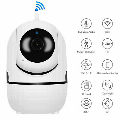 1080P HD Smart Home Wireless Security IP Camera WiFi IR Night Baby Monitor CCTV