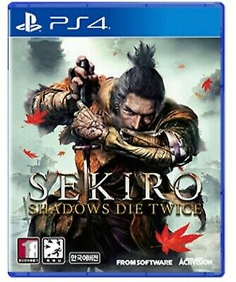 PS4 SEKIRO Shadows Die Twice Korean English With Free Gift + Tracking Number