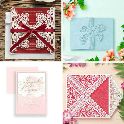 Metal Cutting Dies Edge Embossing DIY Paper Lace Flower Stencil Making Decor