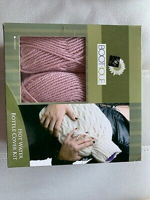 Easy To Knit Hot Water Bottle Knitting Wool / Yarn Kit Cover