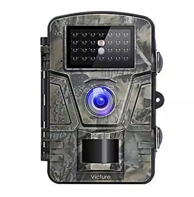 Victure IP66 Wildlife Trail Camera 12MP 1080P HD Infrared Cam with Night Vision