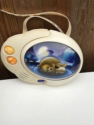 CHICCO Snooze Clouds Light Sound MP3 Music Sleeping Aid Baby Mobile Singing Toy.