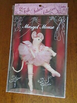 Margo Mouse Doll Sewing Pattern From The Frill Seekers Collection