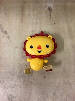 Fisher Price Lion Yellow Baby Toy