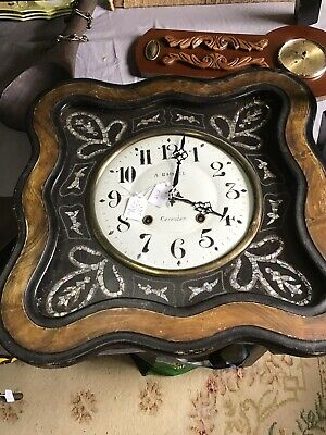 Beautiful Antique French Wall Clock