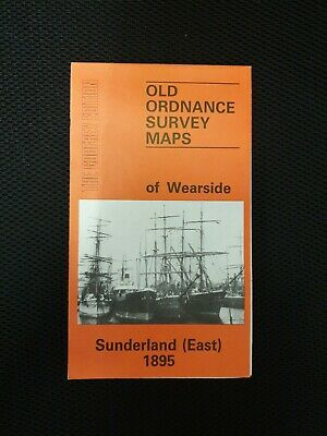 Old Ordnance Survey Map - OF WEARSIDE AND SUNDERLAND EAST 1895