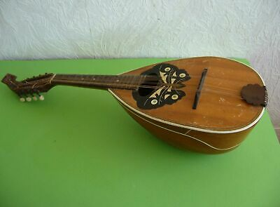Alte Mandoline Marcelli Made in Germany, wohl Emil Hartung in Erlbach, Vogtland