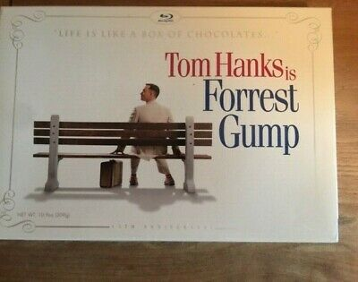 Forrest Gump Blu Ray 15Th Anniversary Special Edition Box Of Chocolates