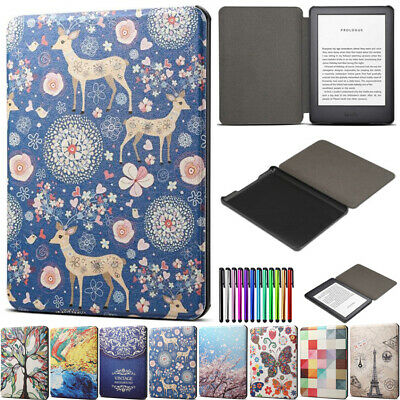 """Leather Cover Case Smart For 6"""" Amazon Kindle 8/10th Gen 2019 Paperwhite 1 2 3 4"""