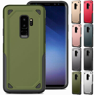 Hybrid Shockproof Rubber Slim Case Cover For Samsung Galaxy S8 S9 Plus S7 Edge