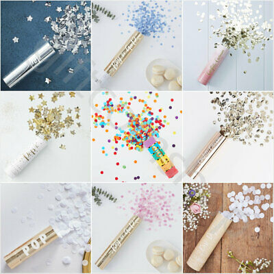 Compressed Air Confetti Cannons Wedding Birthday Baby Shower Hen Party Poppers