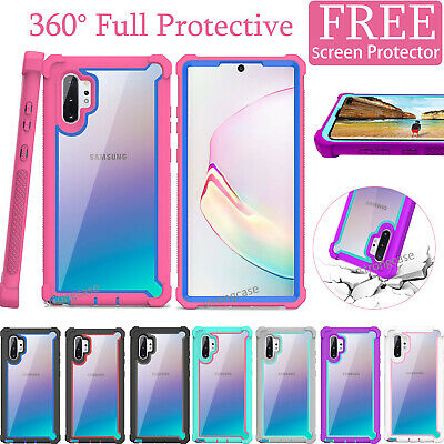 For Samsung Galaxy Note 10 / 10+ Shockproof Hybrid Rugged Protective Case Cover