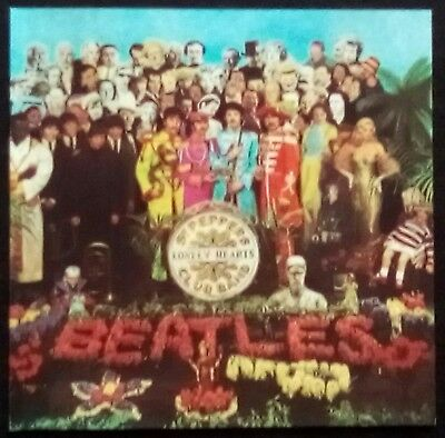 The Beatles~Sgt. Pepper's Lonely Hearts Club Band. 1987. No bar-code on inlay.