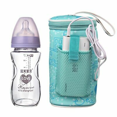 Bottle Warmer Usb Baby Milk Heater Portable Bag Feeding Travel Insulation Water