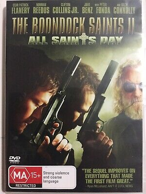The Boondock Saints II - All Saints Day (DVD Region 4) VERY GOOD CONDITION