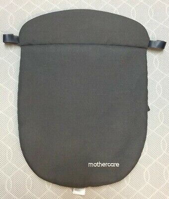 Mothercare Orb Carry Cot Apron Cover Weather Shield - Grey - VGC