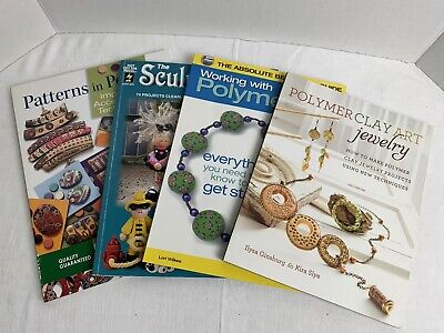 Lot Of 4 Polymer Clay Books