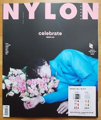 Lee Dong Wook/Cutting 24P+Cover--Not Whole Magazine/Nylon Korea/September 2019